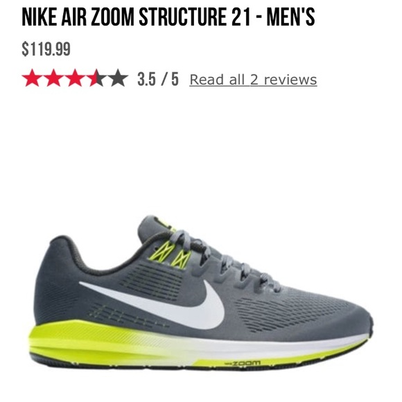 sports shoes 42106 55b3c MEN NIKE AIR ZOOM structure 21